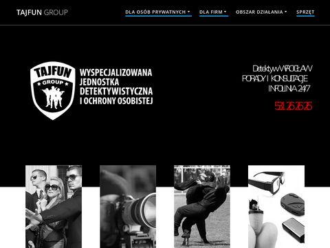 Tajfungroup.pl prywatny detektyw