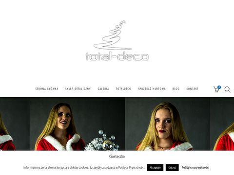 Totaldeco.pl biała choinka