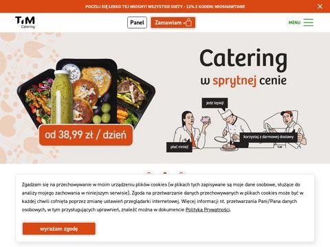 Timcatering.pl catering dietetyczny Wrocław