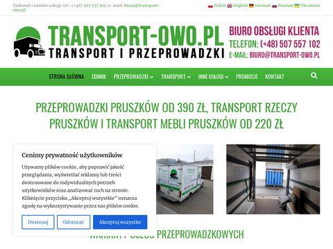 Transport-owo.pl przeprowadzki Pruszków