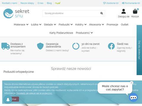 Sekretsnu.pl materac 140x200