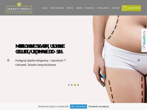 Sekretypiekna.net medycyna estetyczna