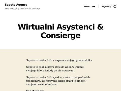 Sapoto.agency wirtualna sekretarka