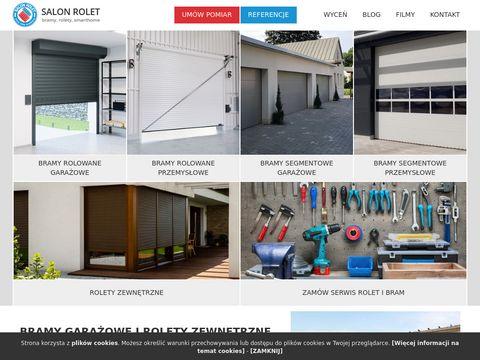 Salonrolet.pl bramy garażowe przemysłowe