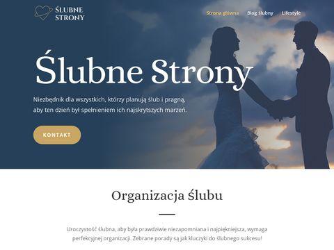 Slubnestrony.com organizacja wesel