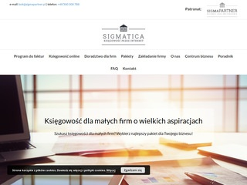 Sigmatica.pl biuro rachunkowe online