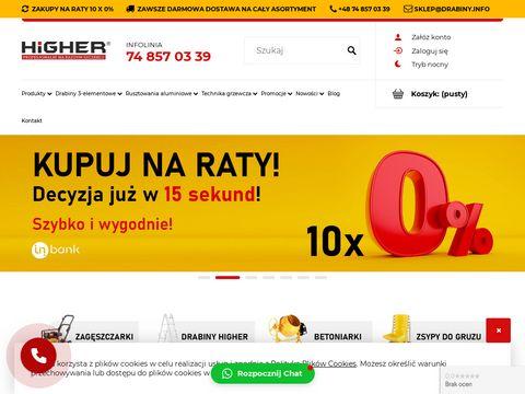 Sklep.drabiny.info Higher rusztowania