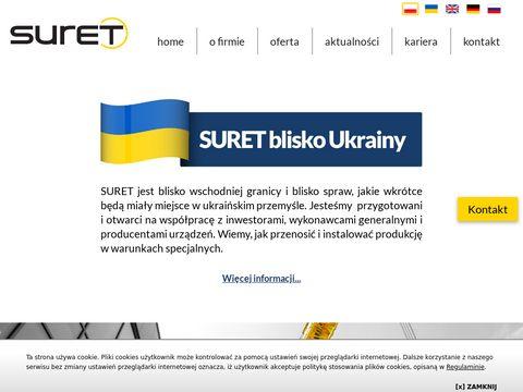 Suret-relokacje.pl rozładunek maszyn