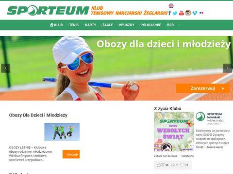 Sporteum.pl tenis Warszawa