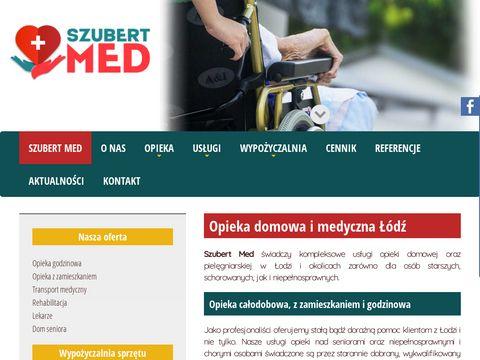 Szubert-med.pl opiekunka dla seniorów