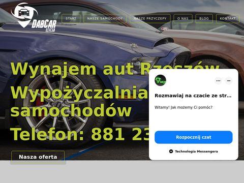Rentdabcar.pl wynajem aut Rzeszów