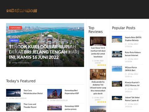 Radaropadow.live - sprawdź opady