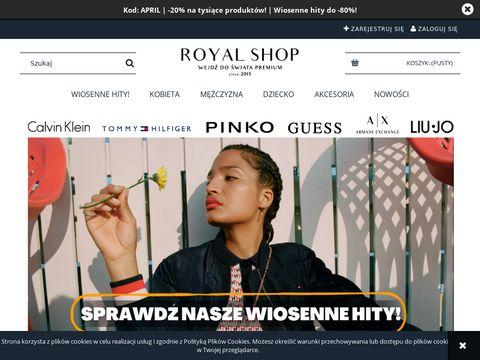 Royal-shop.pl markowa odzież premium