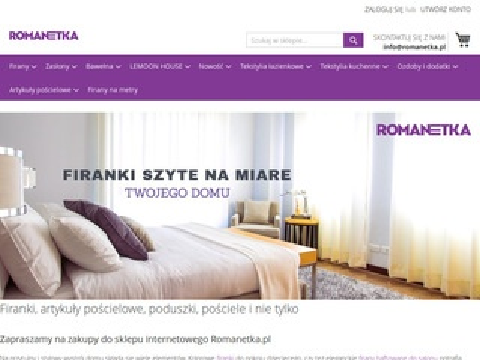 Romanetka.pl zasłony kuchnia
