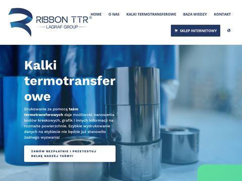 Ribbonttr.com taśmy termotransferowe