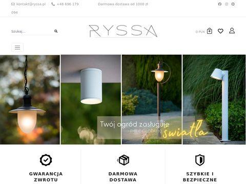 Ryssa.pl wyposażenie wnętrz sklep
