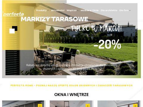 Perfecta.pl żaluzje Wrocław
