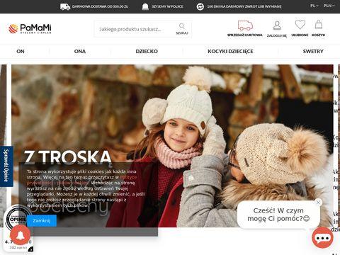 Pamami.pl czapki damskie i męskie
