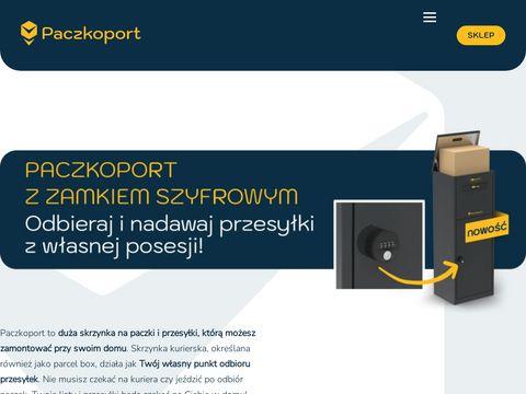Paczkoport.pl skrzynka pocztowa na paczki