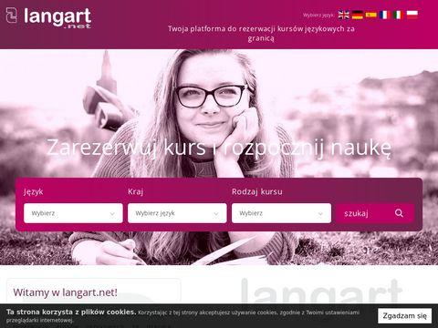 Langart.net kursy językowe za granicą