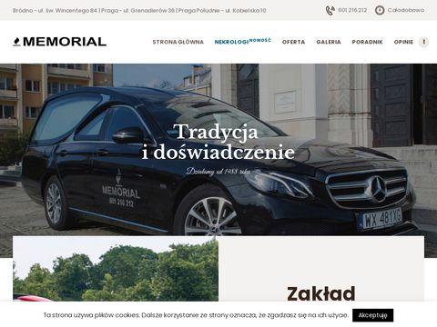 Pogrzebymemorial.pl usługi Grochów