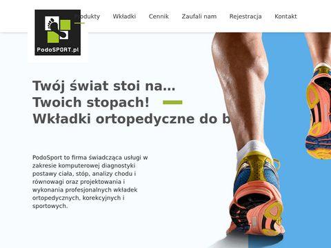 Podosport.pl wkładki ortopedyczne Kraków