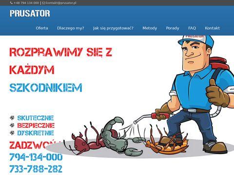 Prusator.pl deratyzacja