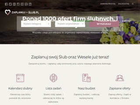 Zaplanuj-slub.pl portal weselny