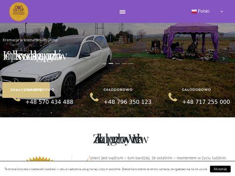 Zakladpogrzebowyolimp.pl usługi Wrocław