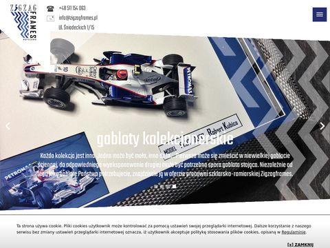 Zigzagframes.pl oprawa obrazów