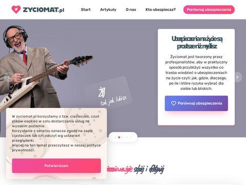 Zyciomat.pl ubezpieczenie na życie