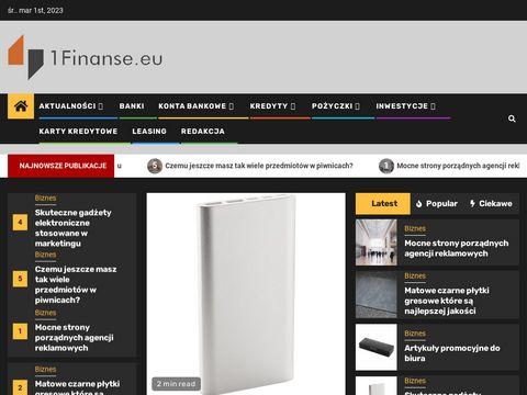 1finanse.eu blog kredytowy